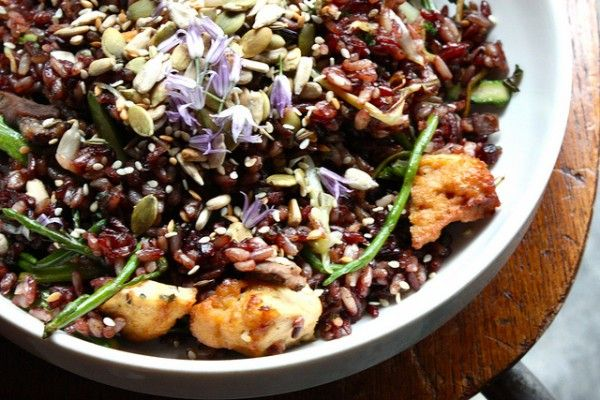 salty seeds: as a topping over rice, in a salad, or grain-based dish ...