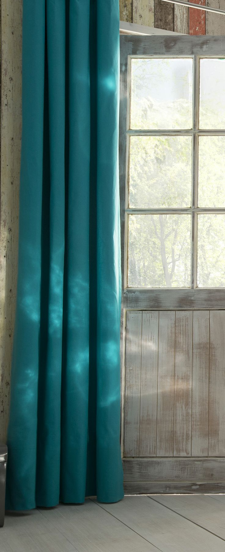 rideau colours zen turquoise castorama inspiration. Black Bedroom Furniture Sets. Home Design Ideas