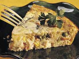 Impossibly Easy Turkey-Ranch Pie   Main Course recipes   Pinterest