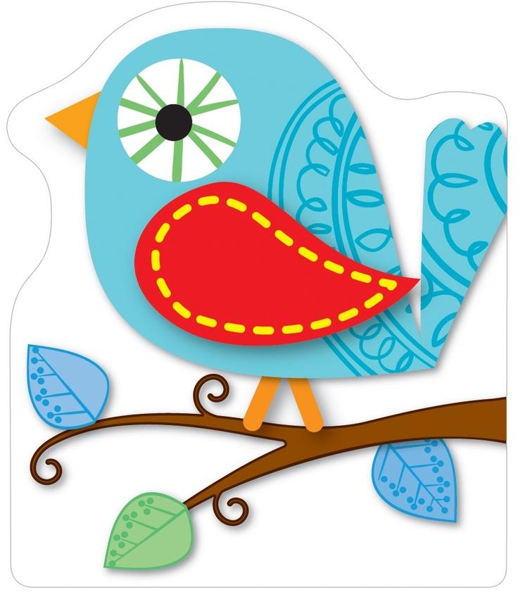 Boho Birds Bookmarks from Carson-Dellosa