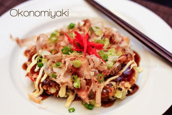 Japan] Japanese Savory Pancake (Okonomiyaki) | Easy Japanese Recipes ...