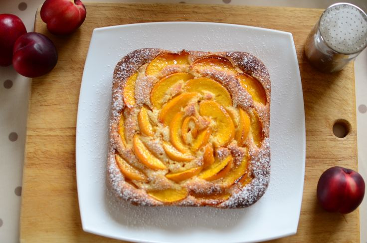 Peach frangipane cake | morsels: sweet tooth. | Pinterest