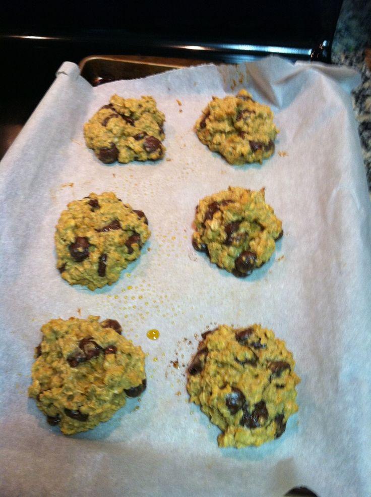 Pumpkin Protein Cookies/Gluten free! | Sweetie Pie | Pinterest
