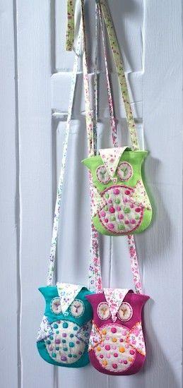Owl String Purse Idea