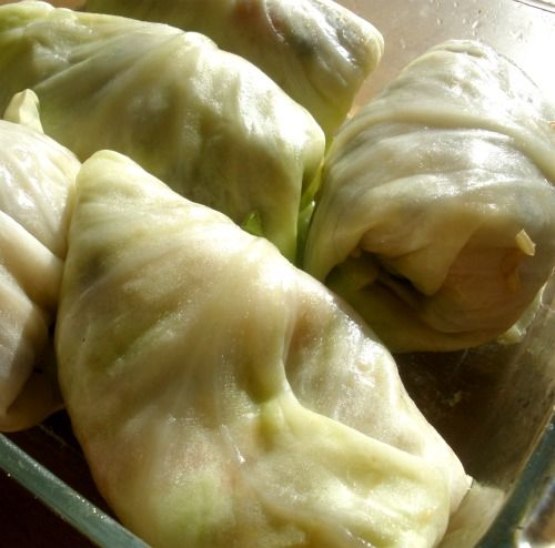 Vegetarian stuffed cabbage rolls - I'm trying to find a good recipe ...