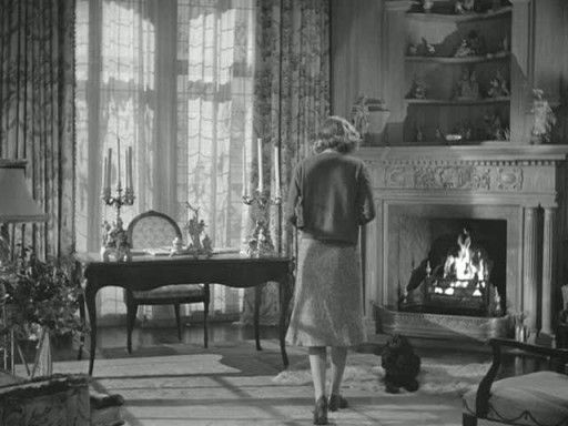 """Rebecca's morning room:  In the classic Hitchcock film Rebecca, there was a fantastic """"Morning Room"""" that belonged to the former lady-of-the-house.  It was a place filled with morning light, a warm fireplace and a writing desk for enjoying coffee and catching up on correspondence.  It would be today's equivalent to the home office."""