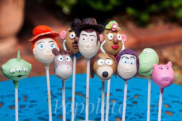 #ToyStory #cakepops