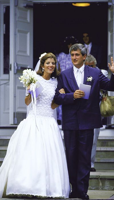 The best celebrity wedding dresses caroline kennedy for Caroline kennedy wedding dress
