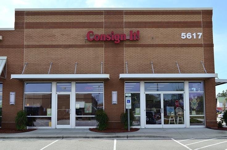 Consign It!  (910) 392-1299   5617 Carolina Beach Rd.  Wilmington, NC 28412