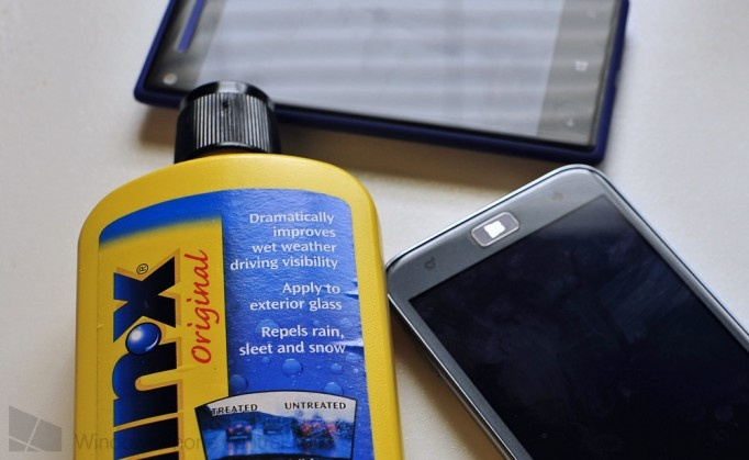 """... your Phone display smudge free, and your glass from feeling """"sticky"""