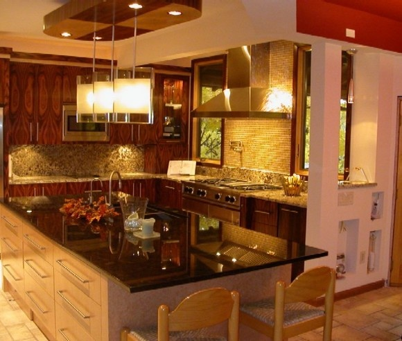 rosewood kitchen cabinets pin by julie z on home spaces items etc pinterest. Interior Design Ideas. Home Design Ideas