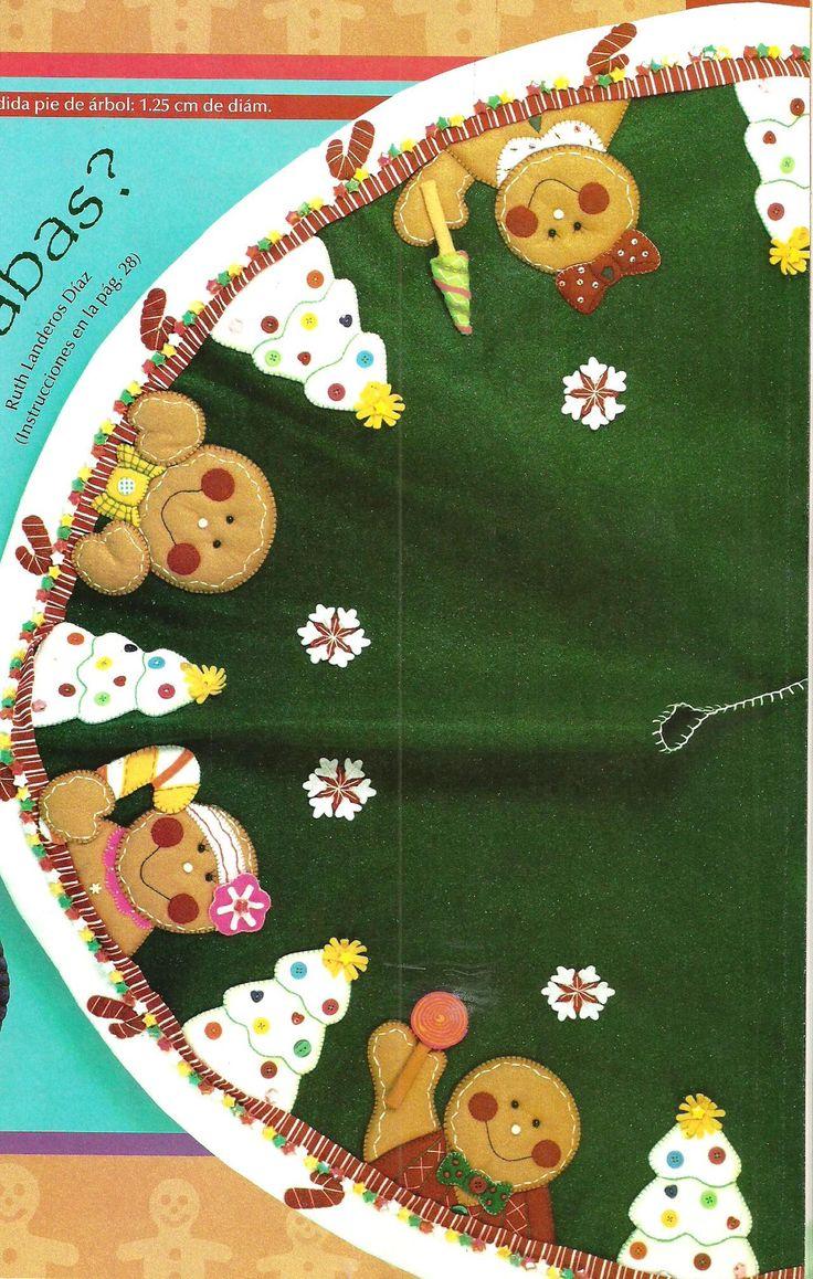 Pie de arbol con apliques manualidades para el hogar blog - Manualidades para el hogar ...