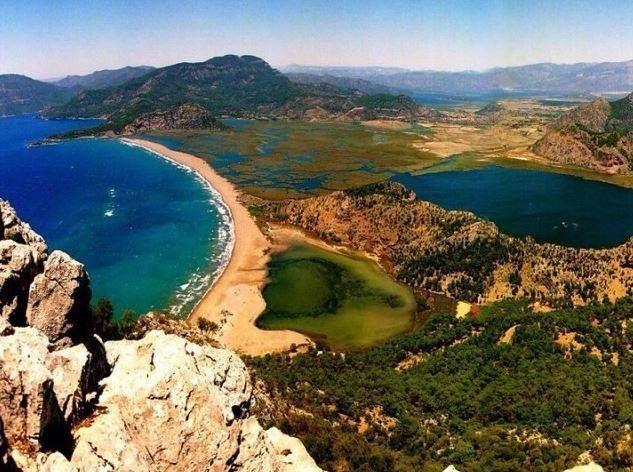 Dalyan - Turkey/ Iztuzu beach  ~Oceans~  Pinterest