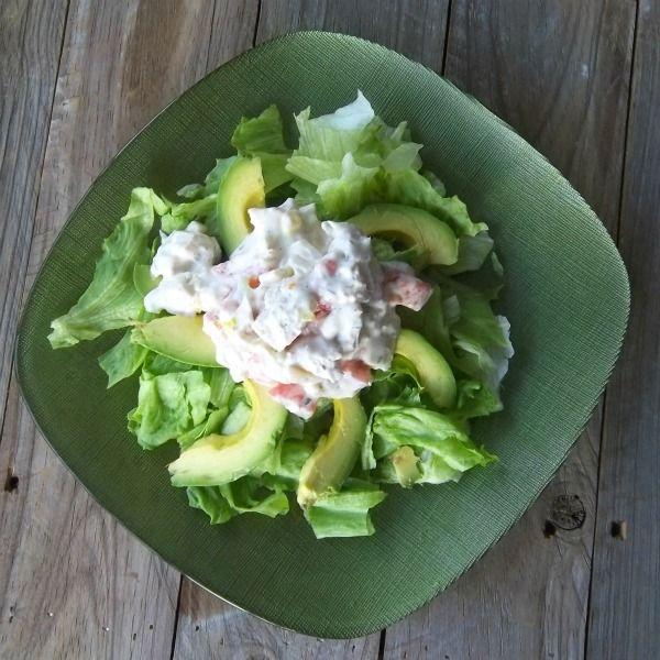 Ranch Chicken Salad frugalanticsrecipes.com #chicken #salad