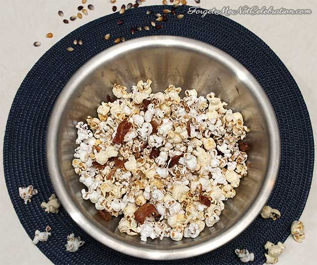 Popcorn is both savory and sweet. From the maple bacon and maple syrup ...