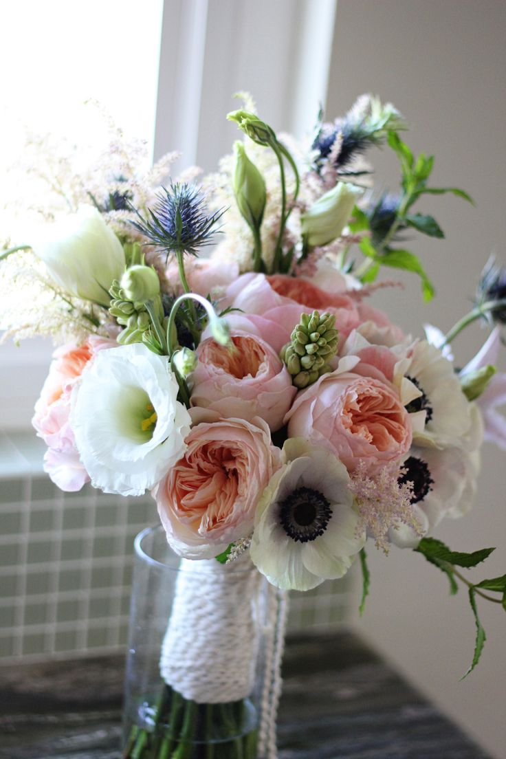 Garden rose wedding bouquet wedding flowers pinterest - Garden rose bouquet ...