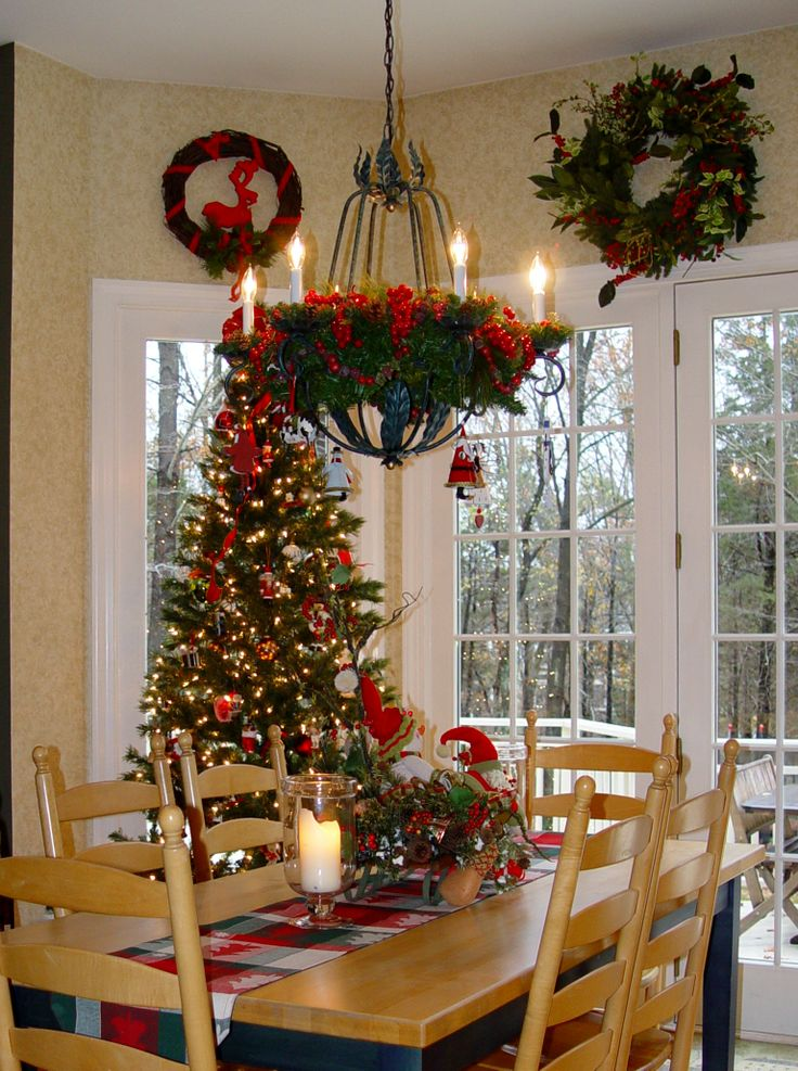 Pin by robin lamonte rooms revamped on holiday decor and for French door decorating ideas