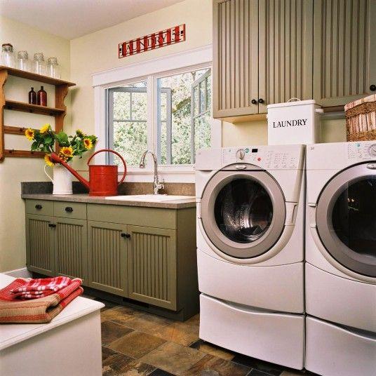 Beautiful Laundry Room Decor Laundry Room Pinterest