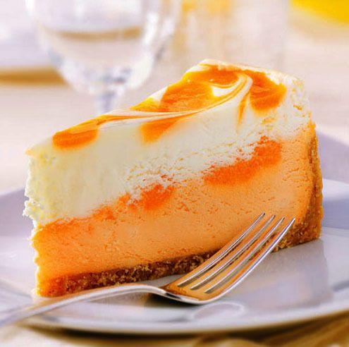 Orange Cheesecake | Orange | Pinterest