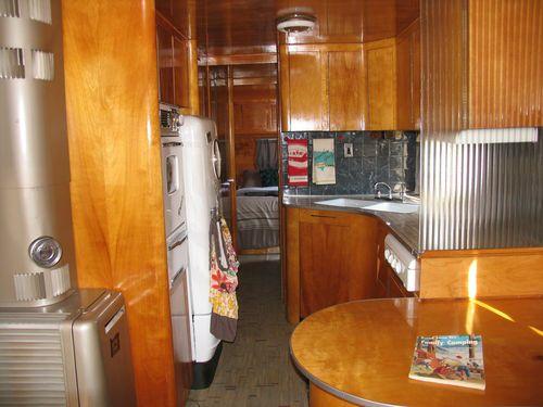 1954 Anderson Restored Vintage Travel Trailer Aluminum Birch Interior Flyte Camp