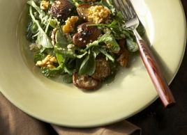 Warm Shiitake Walnut Salad with Quinoa | Recipes | Eat Well | Best ...