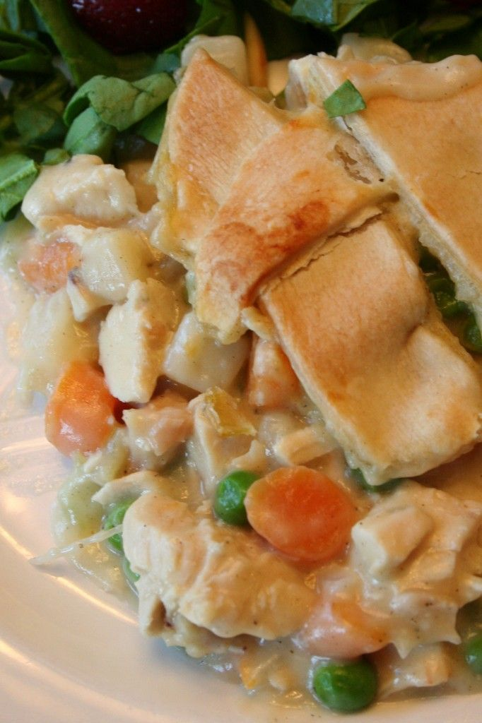 Classic Chicken Pot Pie. I made individual ones and then sved the ...