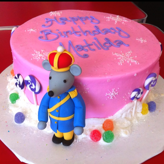 Nutcracker ballet Mouse King birthday cake!