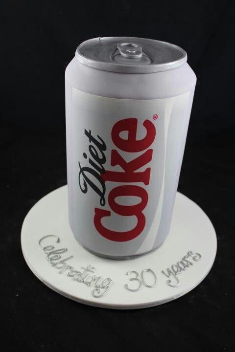 Diet Coke cake | Fondant - Tartas | Pinterest
