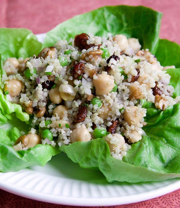 ... quinoa salad smoky 13 bean pork and quinoa salad with avocado garbanzo