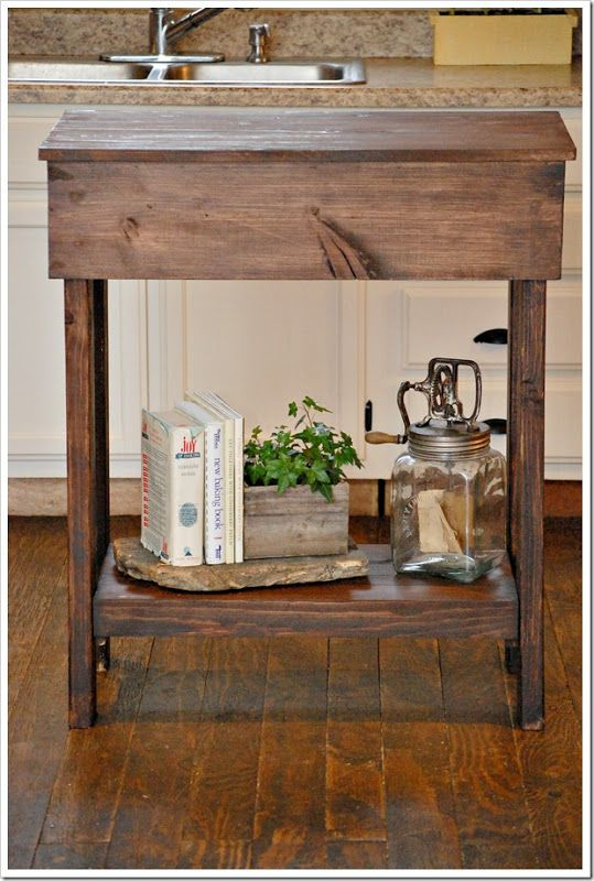 Kitchen island for small spaces woodworking pinterest - Kitchen islands for small spaces ...