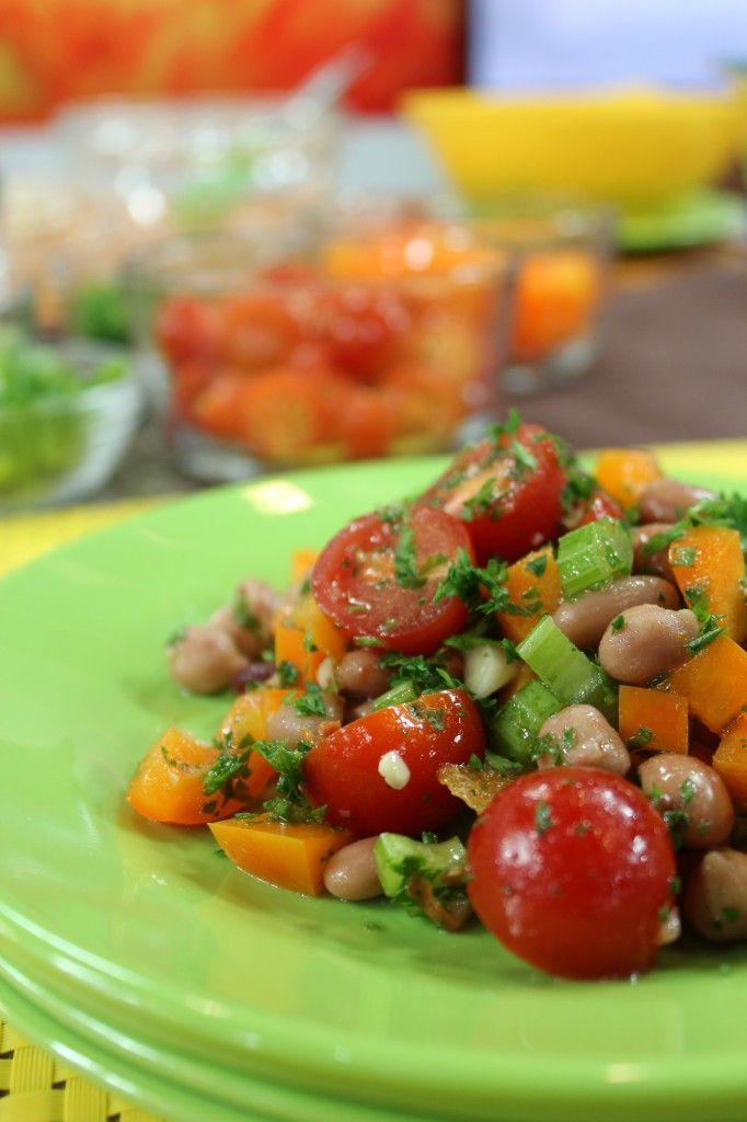Mixed Bean Salad | Food- Salads | Pinterest