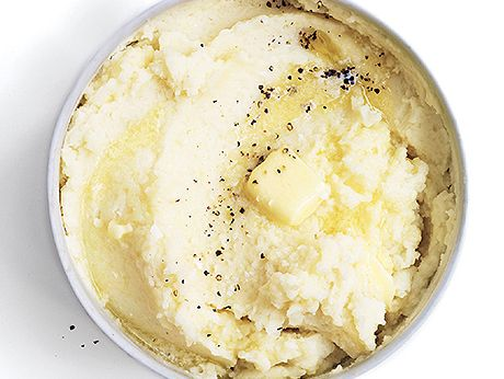 Sour Cream Mashed Potatoes Recipe | Epicurious.com - maybe use Greek ...