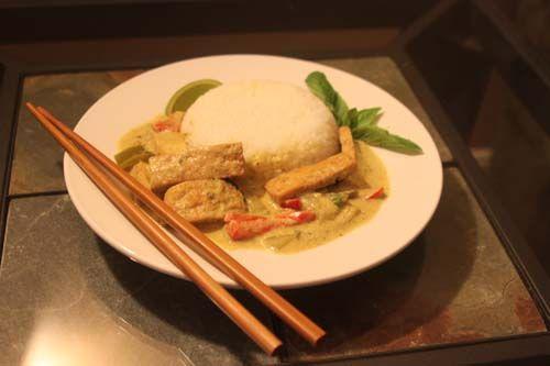Thai Tofu Curry | Healthy foods | Pinterest