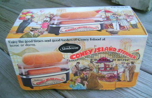 Coney Island Hot Dog Steamer