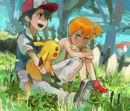 Pokemon ash and misty porn think