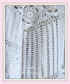 * Pérolas do Crochet: Blusa de Croche manga longa - Modelo Zang