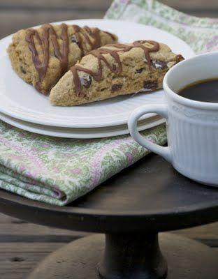 mocha scones | Bon Appetit! | Pinterest