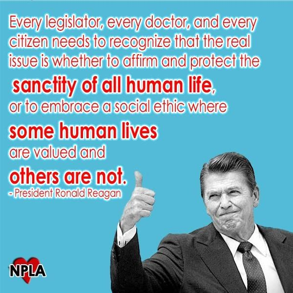 Ronald Reagan Pro Life Quotes. QuotesGram