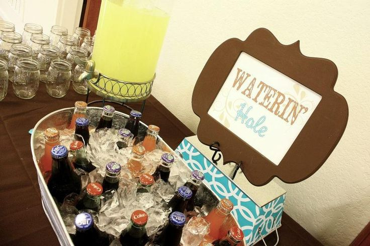 cowboy baby shower theme party ideas pinterest