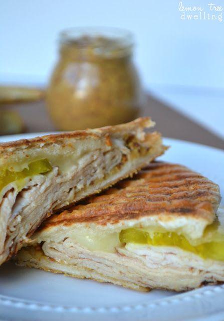 Turkey Cuban Sandwich | food | Pinterest