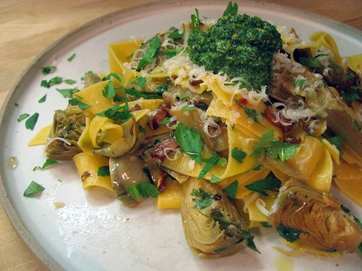 toasted pistacio, pappardelle, browned butter...dinner.