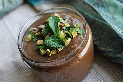 chocolate mint green monster smoothie | Desserts | Pinterest