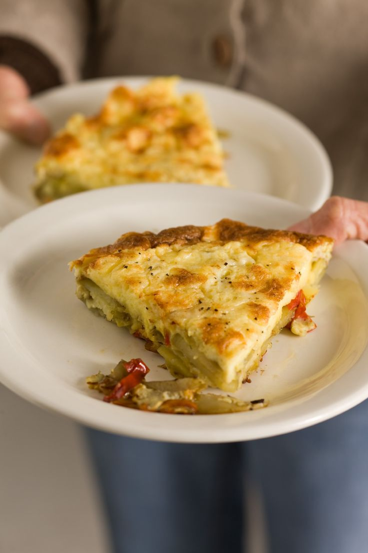 spanish tortilla this frittata with potatoes and bell pepper is just ...