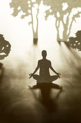 Silent meditation retreat at home