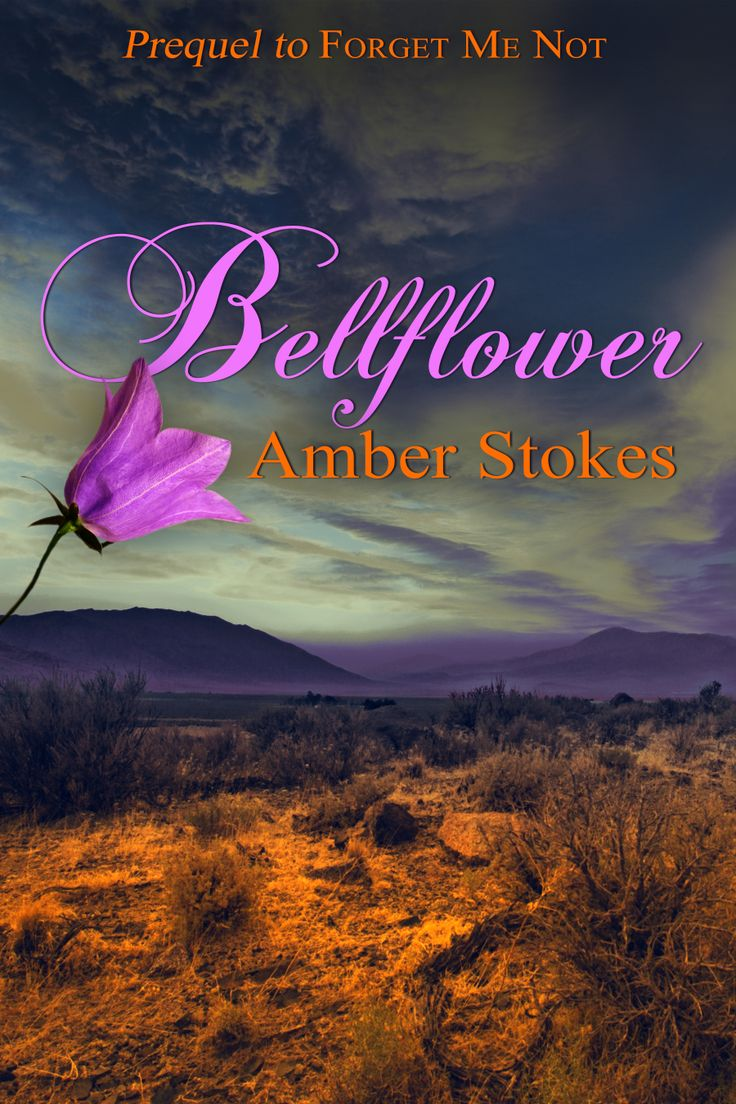 The cover for Bellflower, the short story prequel to Forget Me Not, designed by @Lena Åberg Åberg Goldfinch. :)