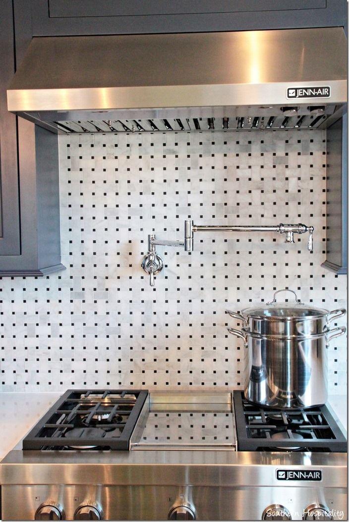 stove love the tile backsplash coastal country kitchens