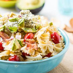 Cobb Pasta Salad | food | Pinterest
