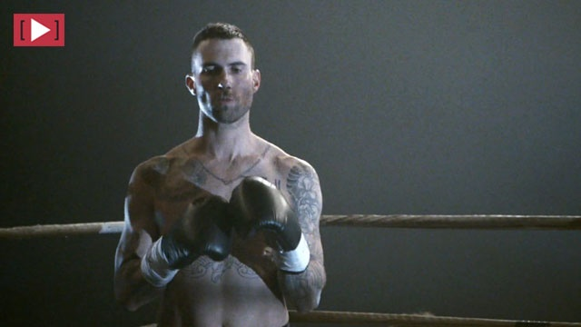 i love adam levine with no shirt | My eyes have seen the ...