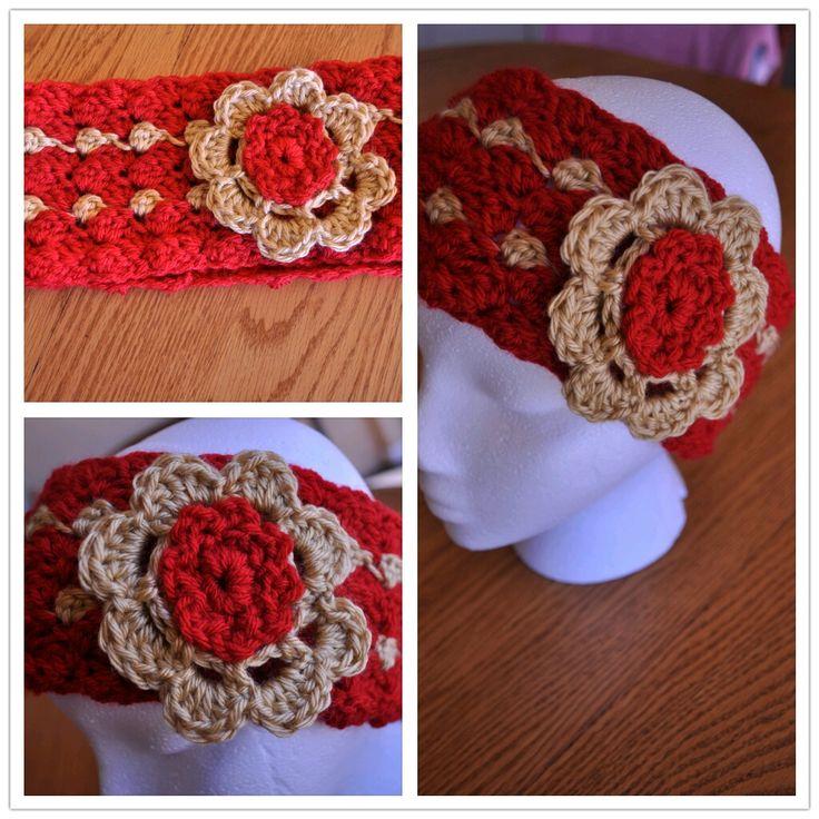 Crochet Patterns Ear Warmers : Easy Ear Warmer Crochet Pattern Crochet Pinterest
