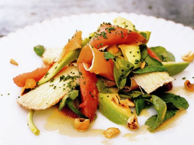 with grapefruit and avocado winter panzanella salad with grapefruit ...